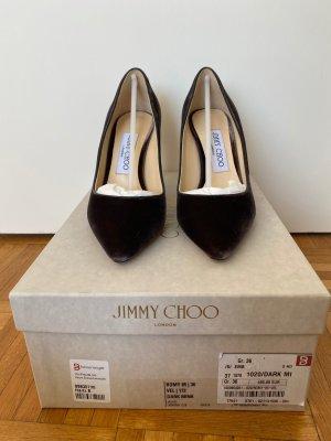 Jimmy Choo Samt Pumps ROMY 85mm