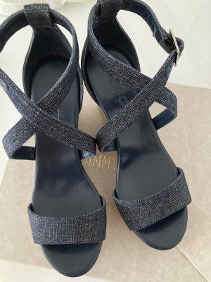Jimmy Choo Platform Sandals blue