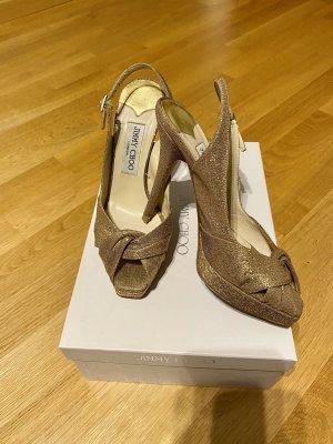 Jimmy Choo Sandalen / High Heels Gr. 37