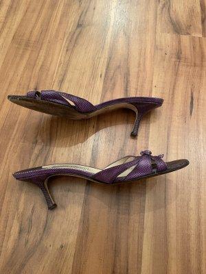 Jimmy Choo High Heel Sandal dark violet