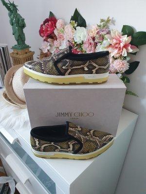 Jimmy Choo Schlangen Sneaker