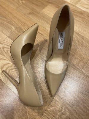 Jimmy Choo High Heels cream leather