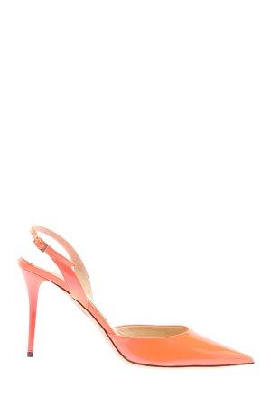 Jimmy Choo Slingback Pumps pink-light orange casual look