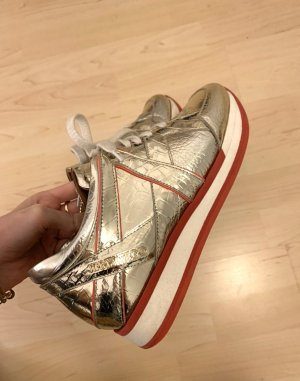 Jimmy Choo Lace-Up Sneaker multicolored
