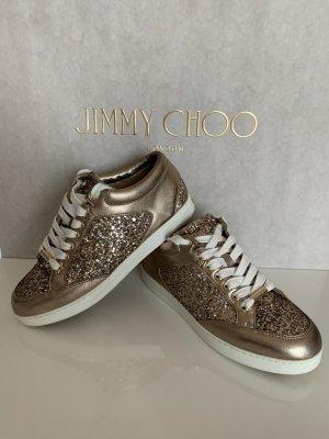 Jimmy Choo Sznurowane trampki Wielokolorowy Skóra
