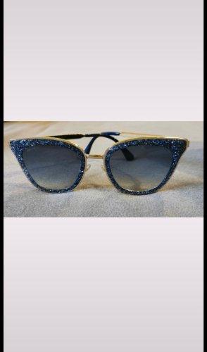 Jimmy Choo Gafas de sol cuadradas azul
