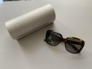 Jimmy Choo Gafas de sol cuadradas color bronce
