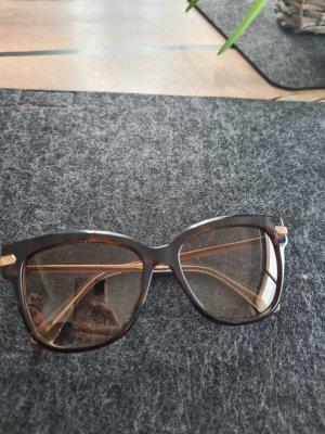 Jimmy Choo Gafas de sol cuadradas marrón oscuro
