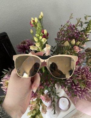 Jimmy Choo Gafas de sol ovaladas color oro