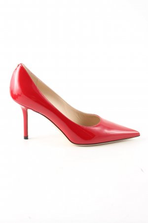 Jimmy Choo Spitz-Pumps rot Elegant