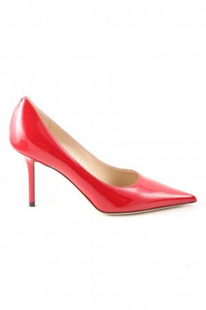 Jimmy Choo Spitz-Pumps rot Business-Look