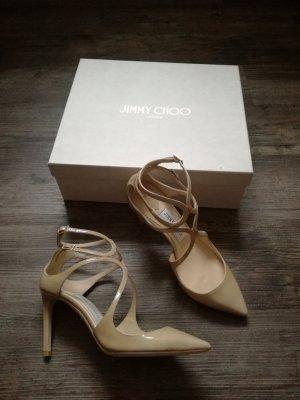 *Jimmy Choo* Spitze Pumps / Gr. 38 / beige / NEU - NP 650,00€