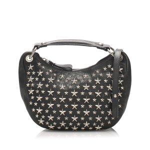 Jimmy Choo Studded Stella Star Leather Handbag