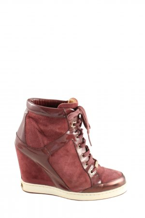 Jimmy Choo Wedge Sneaker braun Casual-Look