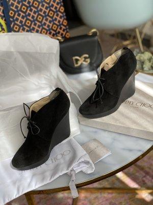 Jimmy Choo High Heels black-silver-colored