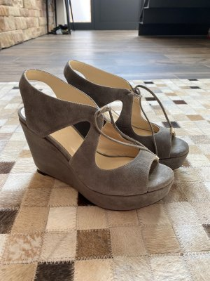 Jimmy Choo Wedge Sandals grey