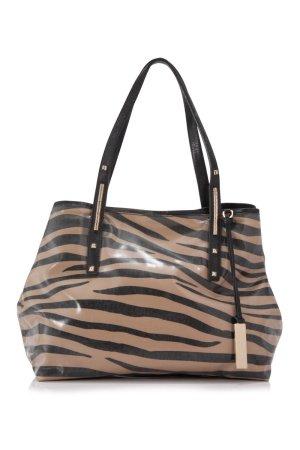 Jimmy Choo Zebra Print Scarlet Tote Bag