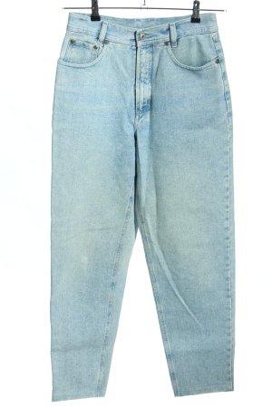 JINGLERS Jeans a carota blu stile casual