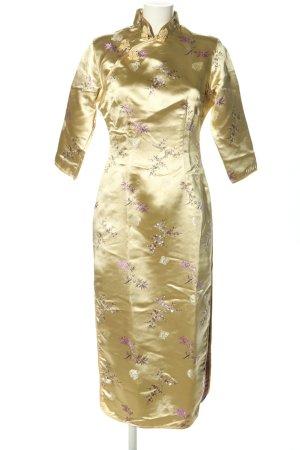 Jinyhameng Kaftan goud volledige print elegant