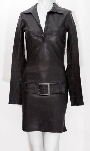 jitrois Vestito in pelle nero Pelle