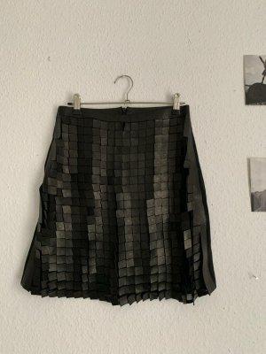 jitrois Leather Skirt black