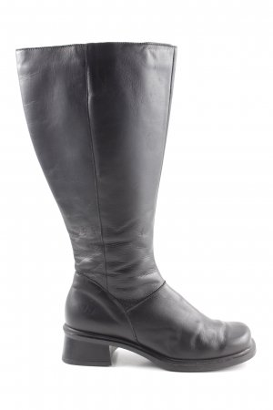 Jj footwear Bottes à l'écuyère noir style décontracté