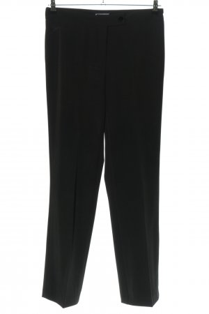 JJOXS Bundfaltenhose schwarz Business-Look