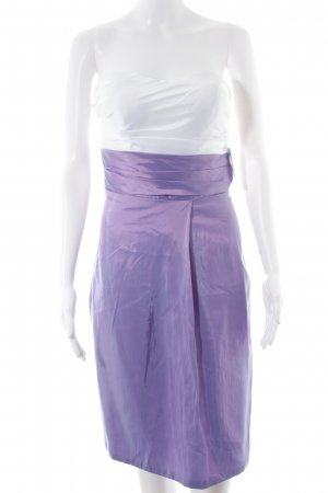 JJs House Abendkleid lila-weiß Elegant