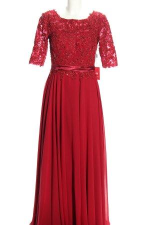 JJs House Vestido de baile rojo elegante