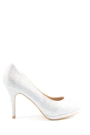 JM. Diamant High Heels silberfarben Elegant