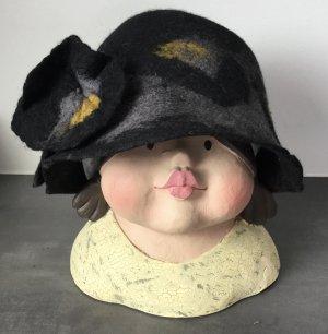 JMM tucki Cloche Hat multicolored wool