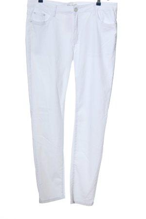 jmp Vijfzaksbroek wit casual uitstraling