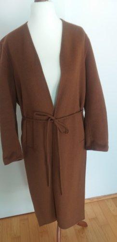Jnby Cappotto in lana marrone-cognac