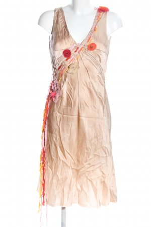 JO NO FUI Trägerkleid nude-rot Elegant