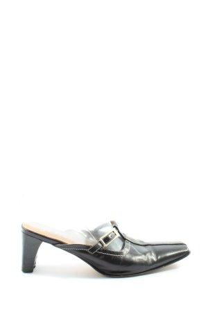 Joa Buty z zabudowanym przodem czarny W stylu casual