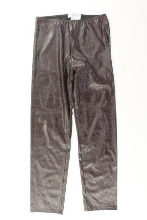 Joachim Bosse Kunstlederhose Größe 36/38 braun aus Polyester