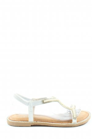 Joalice Beach Sandals white-cream casual look