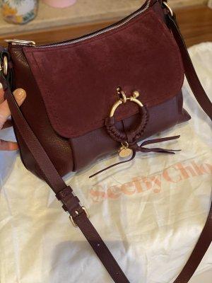 See by Chloé Shoulder Bag blackberry-red