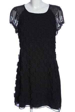 Joana Danciu Kurzarmkleid schwarz Elegant