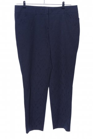 Jobis Anzughose blau Allover-Druck Business-Look