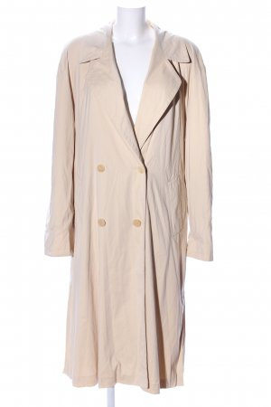 Jobis bodenlanger Mantel wollweiß Business-Look