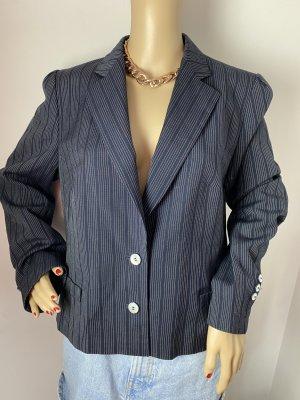 jobis collection damen gestreifter blazer leichte jacke gebraucht