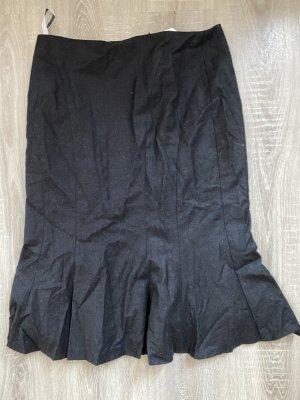 Jobis Pencil Skirt black-taupe mixture fibre