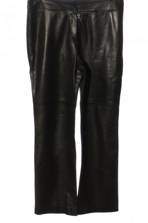Jobis Leather Trousers black casual look