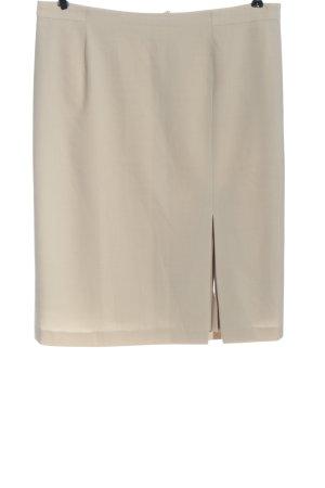 Jobis Minigonna bianco sporco stile professionale