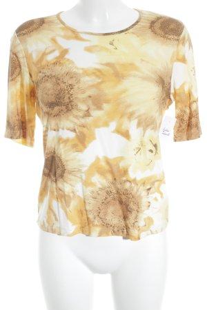 Jobis Print-Shirt Allover-Druck klassischer Stil