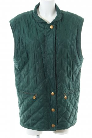 Jobis Quilted Gilet green quilting pattern casual look