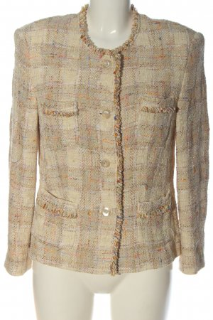 Jobis Knitted Blazer check pattern casual look