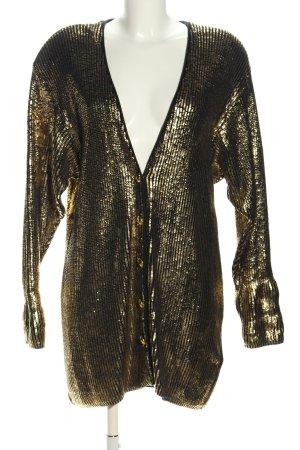 Jobis Cardigan gold-colored-black extravagant style