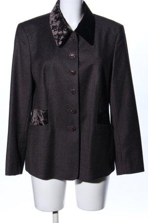 Jobis Woll-Blazer schwarz klassischer Stil